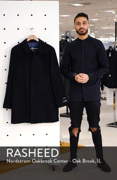 Douglas Modern Fit Wool & Cashmere Overcoat, sales video thumbnail