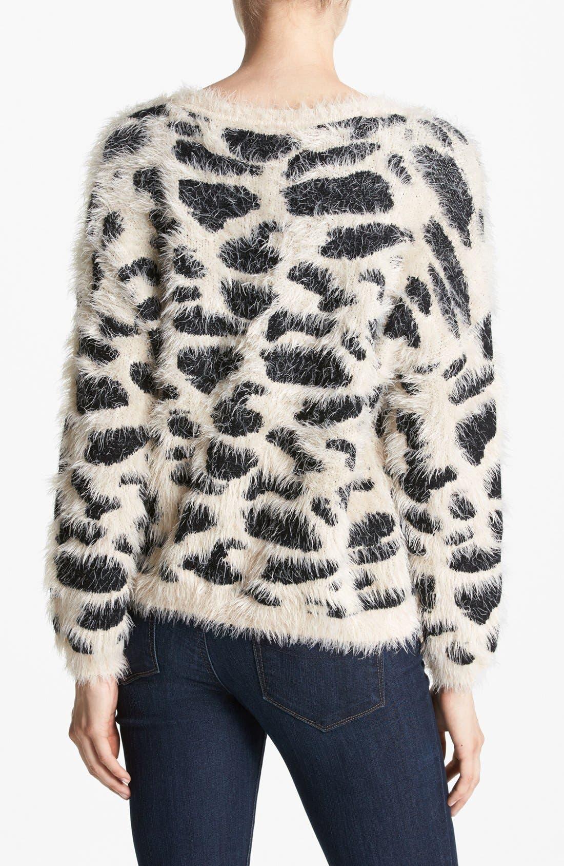 ,                             Animal Pattern Sweater,                             Alternate thumbnail 3, color,                             250