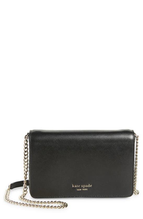 Kate Spade Spencer Chain Wallet Bag In Black