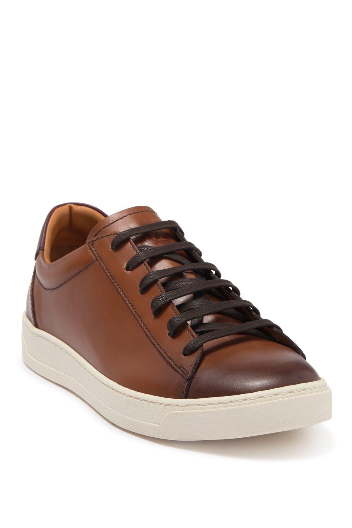 Image of Bruno Magli Diaz Leather Sneaker