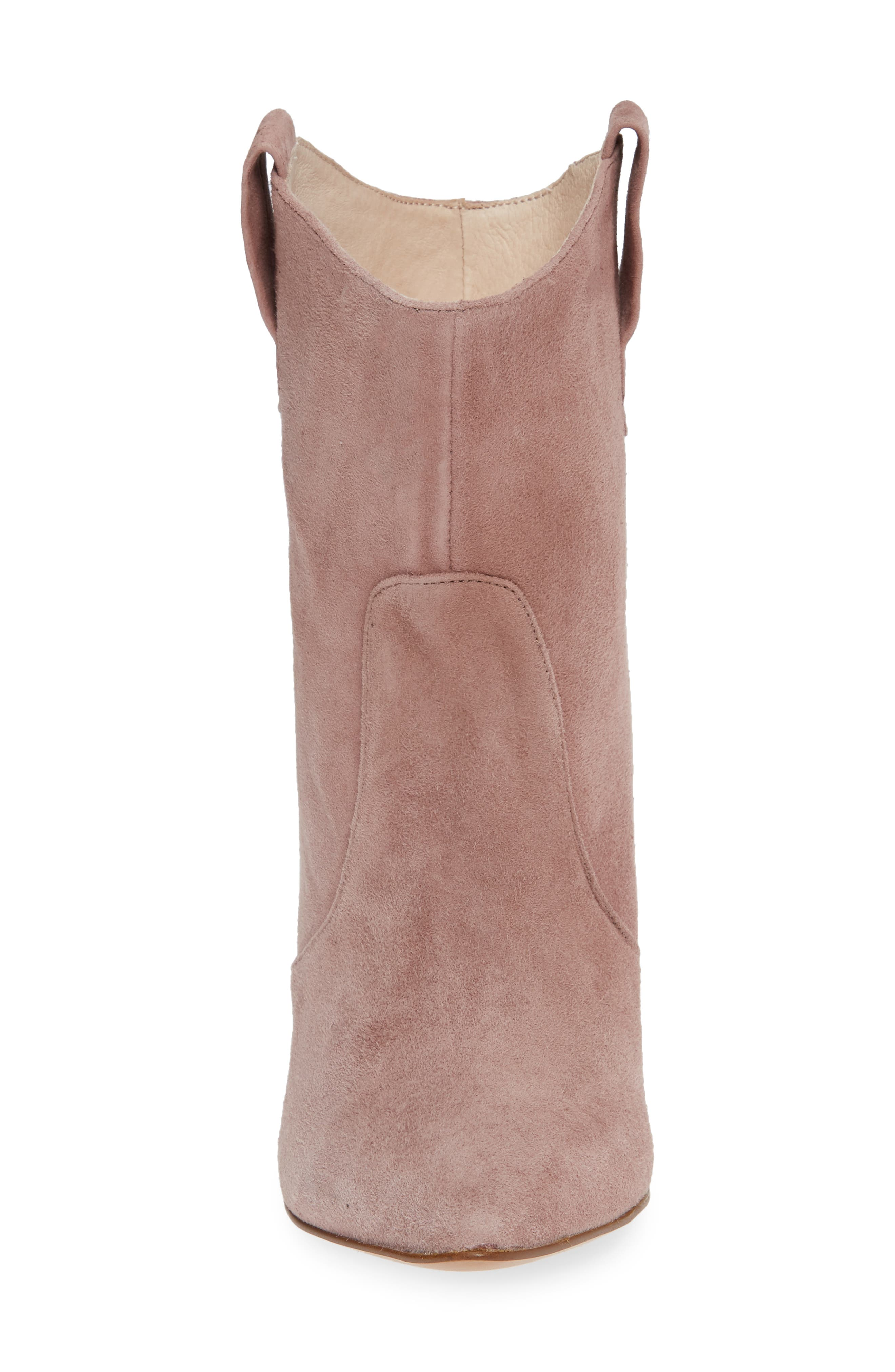 ,                             Karly Suede Bootie,                             Alternate thumbnail 16, color,                             500