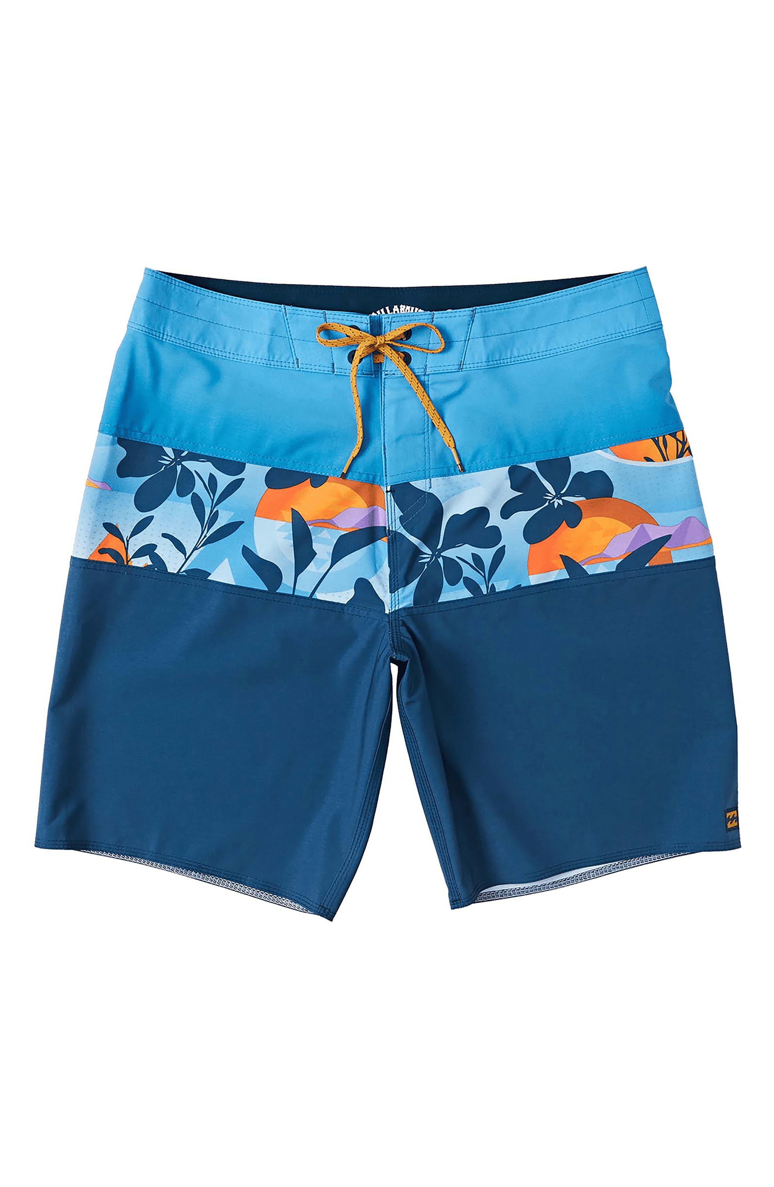 Details about  /Billabong Boys Toddler 3T Board Shorts Sundays OG Black Blue Surf Beach