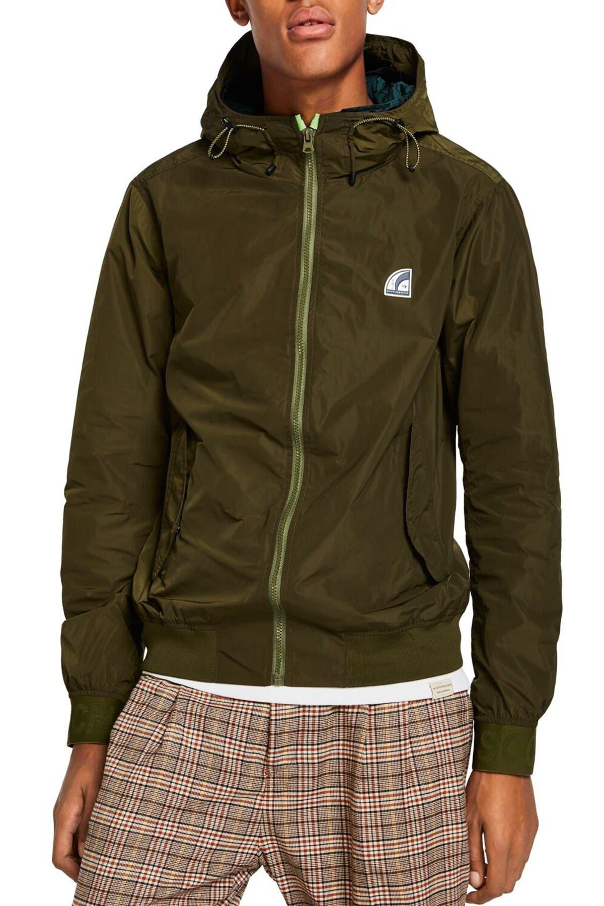 Image of Scotch & Soda Classic Hooded Jacket