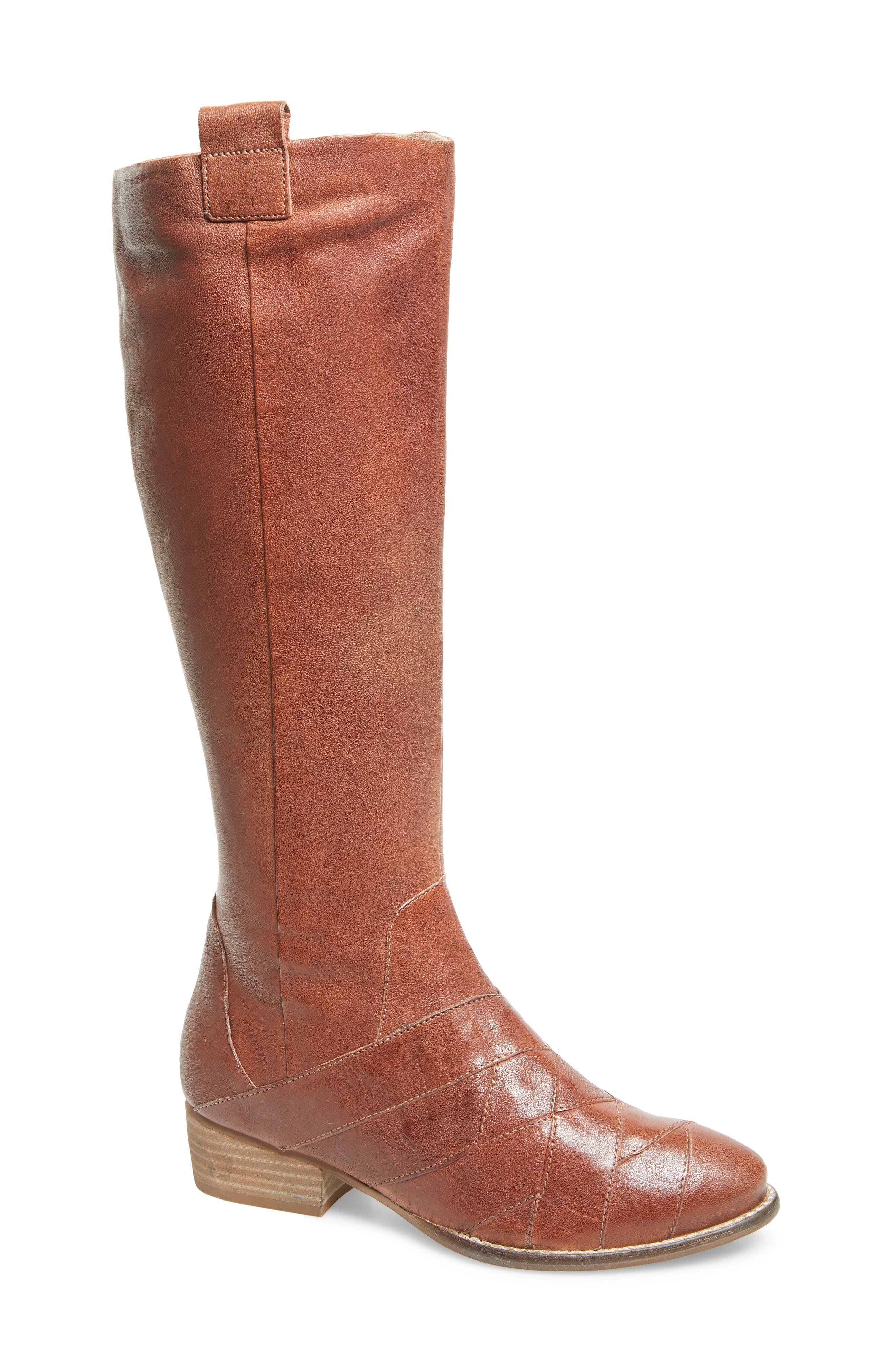 Seychelles Rally Knee High Boot- Brown