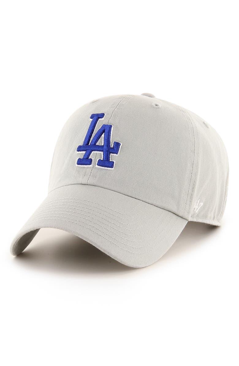'47 Clean Up LA Dodgers Baseball Cap, Main, color, 020
