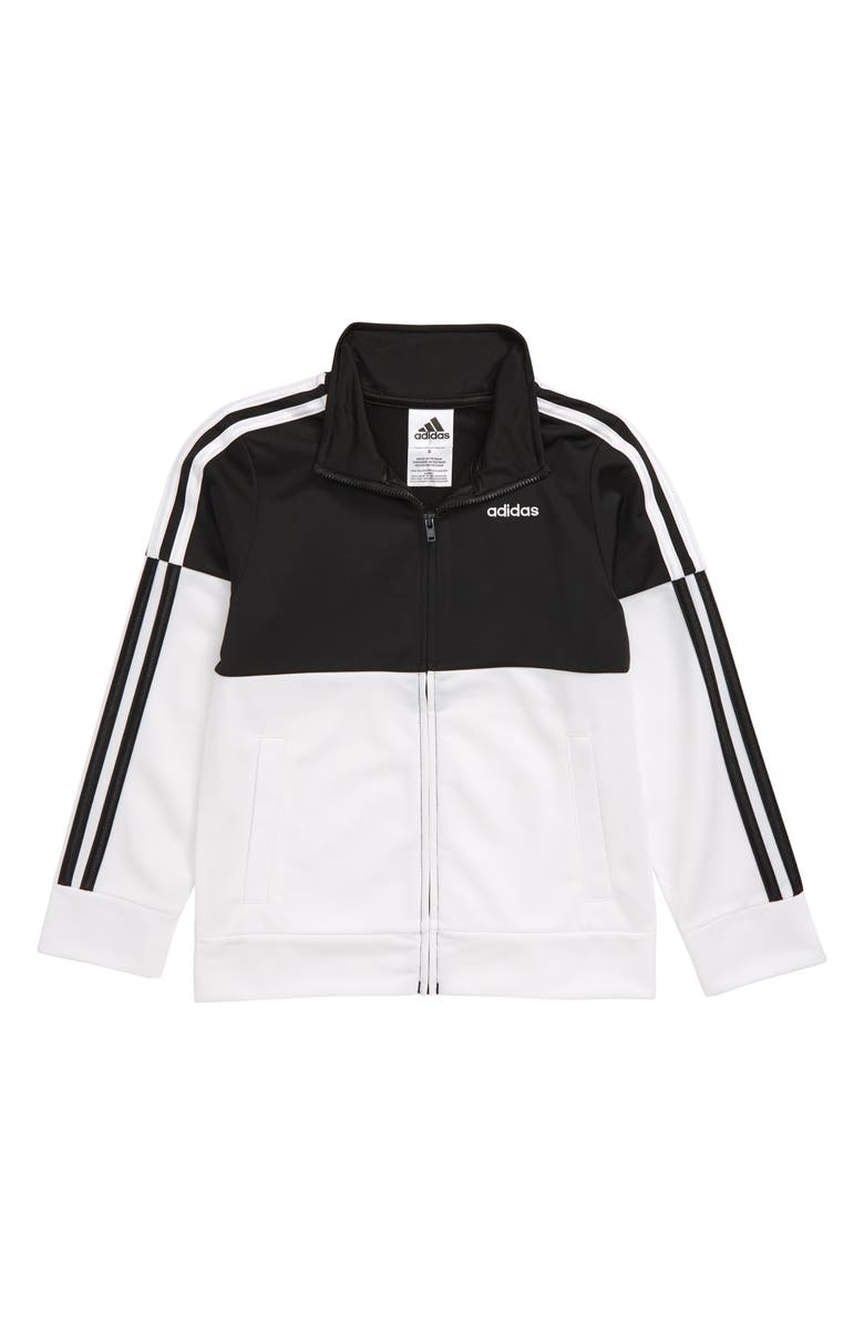 ADIDAS Colorblock Tricot Track Jacket, Main, color, 001
