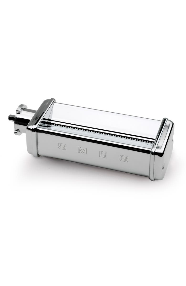 SMEG Tagliolini Pasta Roller/Cutter Chrome Attachment for smeg Stand Mixer, Main, color, 040