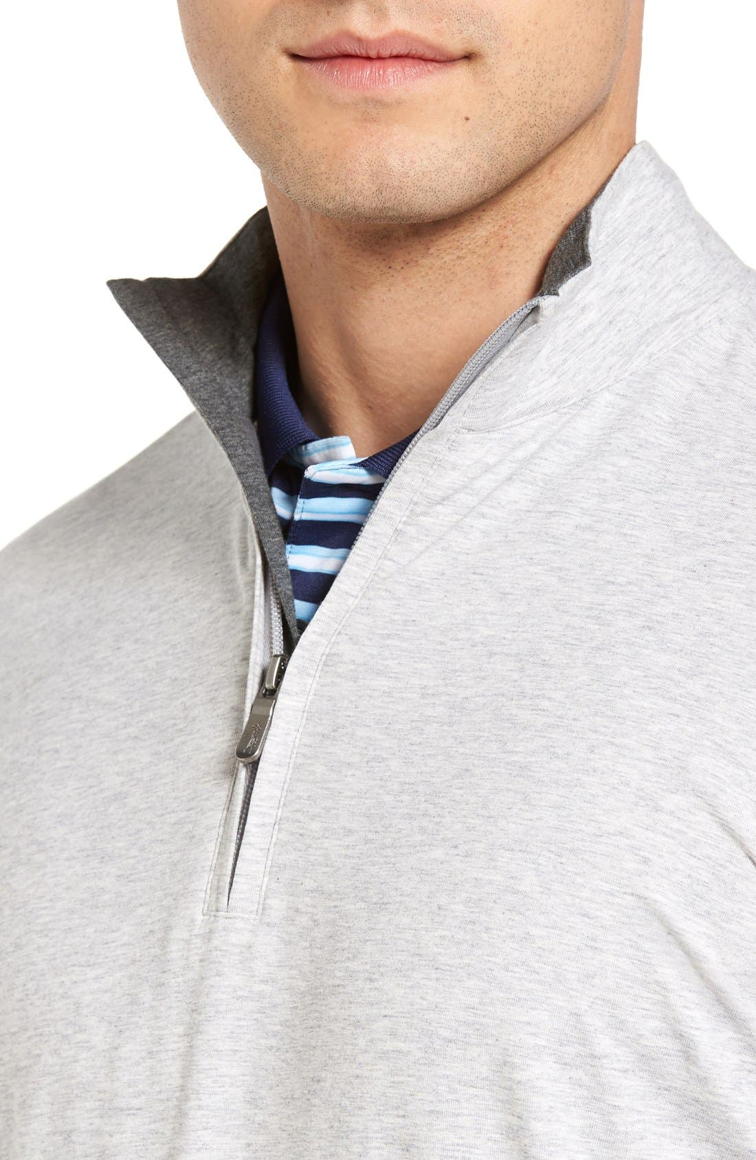 ,                             PTO Liquid Stretch Quarter Zip Pullover,                             Alternate thumbnail 34, color,                             078