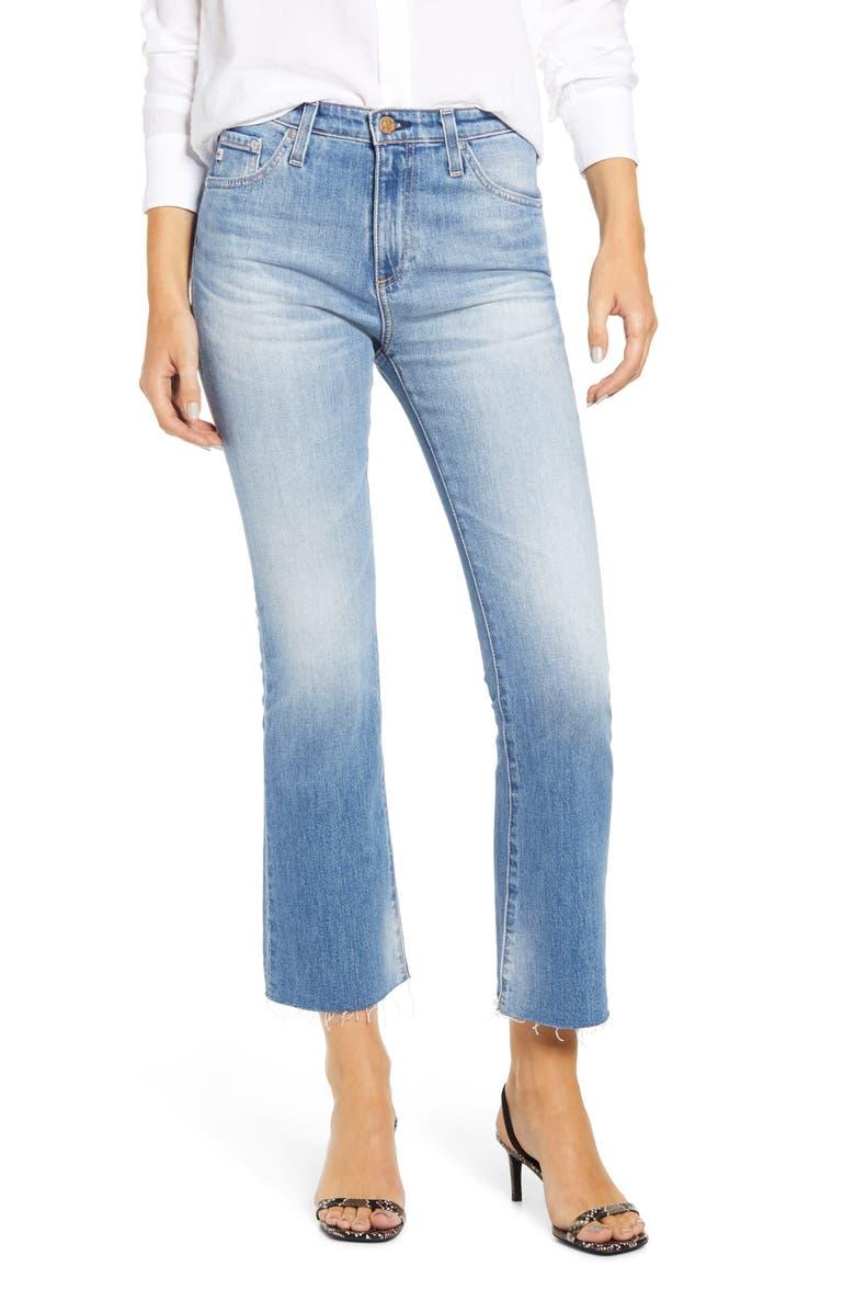AG Jodi Crop Flare Jeans, Main, color, 12 YEARS ETERNAL BLUE