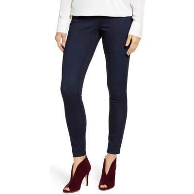 Plus Size Hue Ultrasoft Denim Leggings, Blue