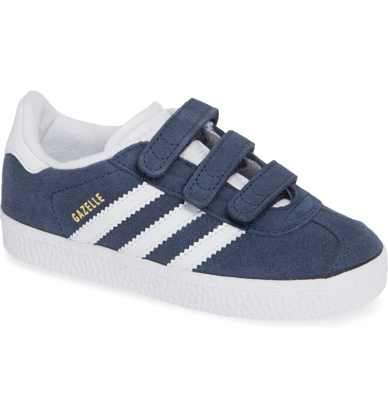 ADIDAS Gazelle Sneaker, Main, color, NAVY/ WHITE
