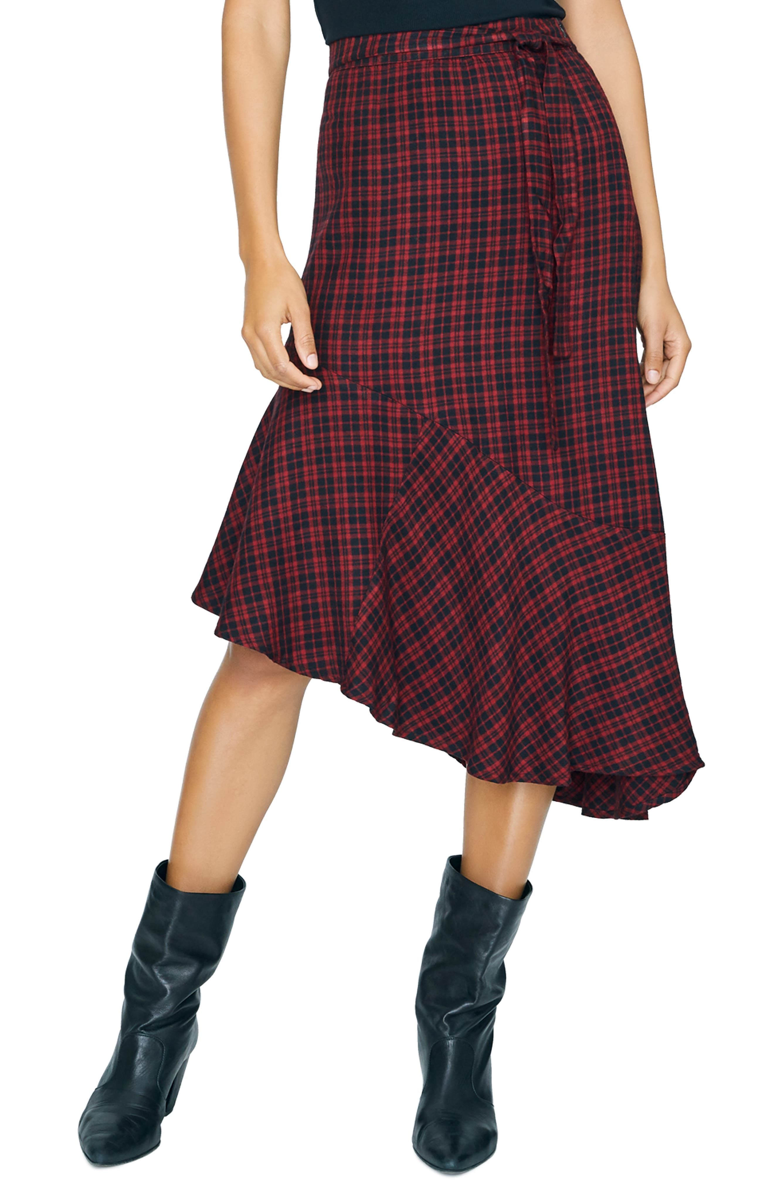 Image of Sanctuary She's The One Asymmetric  Skirt