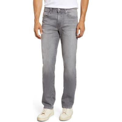 Fidelity Denim Jimmy Slim Straight Leg Knit Jeans, Grey