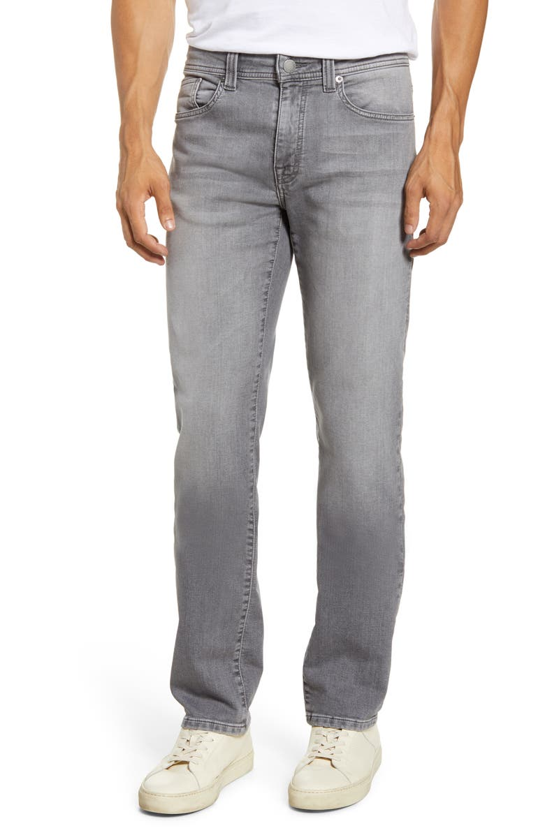 FIDELITY DENIM Jimmy Slim Straight Leg Knit Jeans, Main, color, JEFFERSON