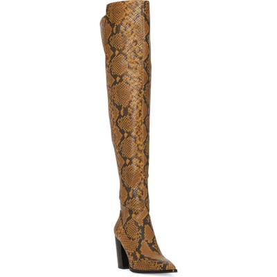 Vince Camuto Cottara Over The Knee Boot, Brown