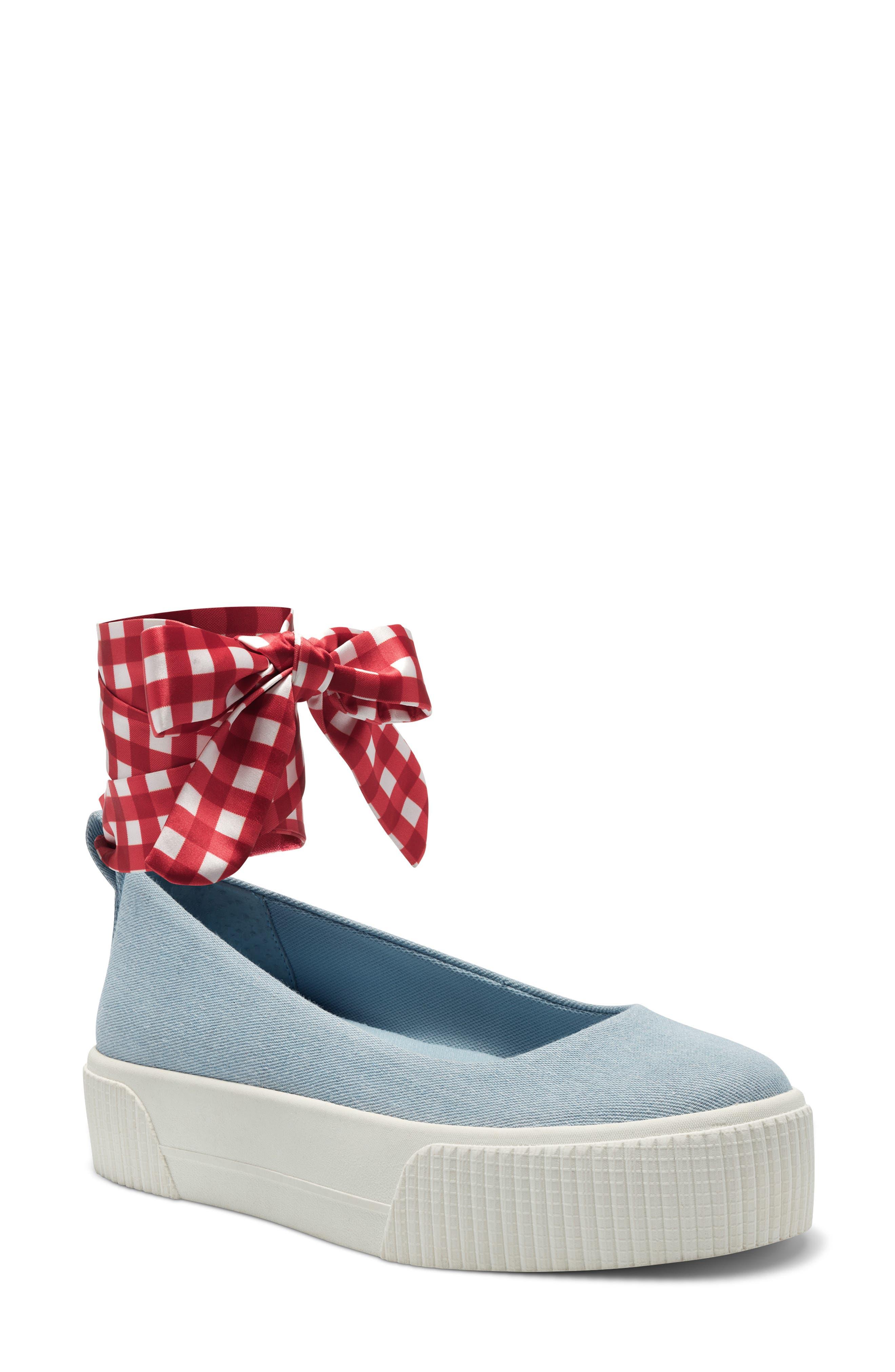Elisah Ankle Tie Platform Sneaker