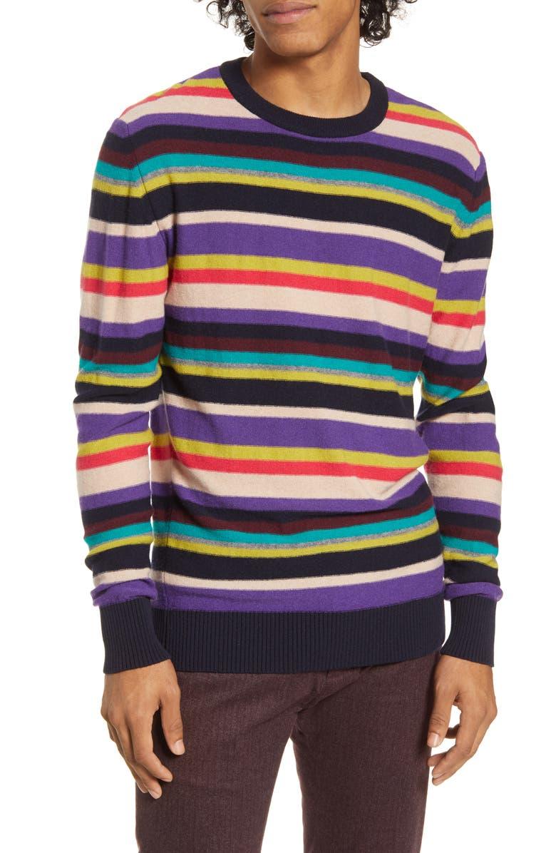 SCOTCH & SODA Regular Fit Crewneck Sweater, Main, color, 500
