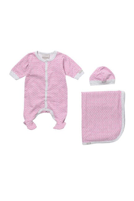 Image of Coccoli Footie, Cap & Blanket Set