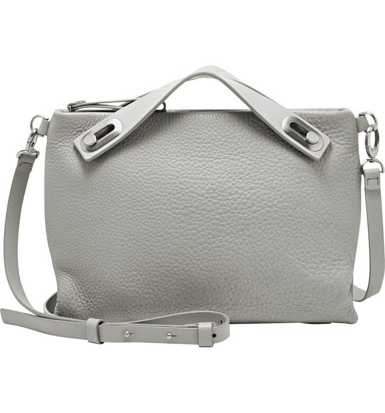 SKAGEN 'Mini Mikkeline' Leather Satchel, Main, color, 020