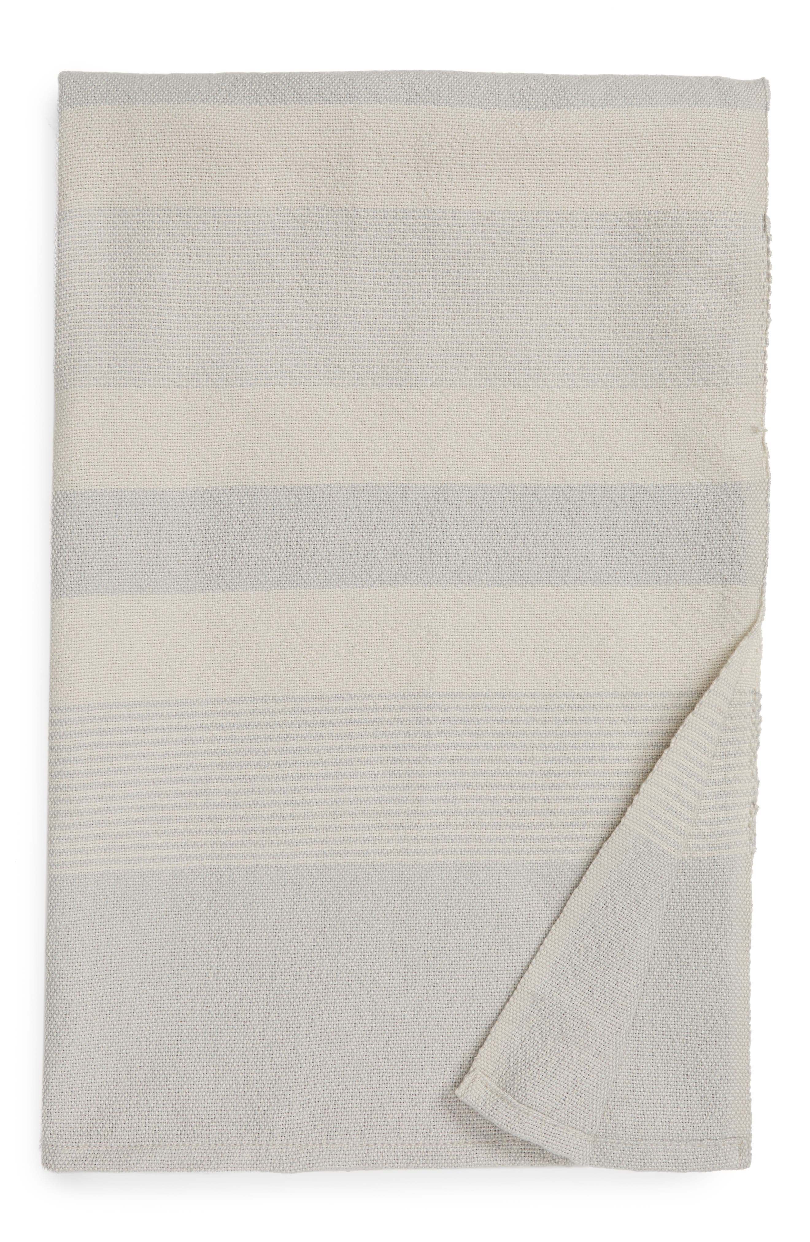 Modern warmth defines this softly striped melange blanket that\\\'s ideal for cuddling up on the couch after a long day. Style Name: Nordstrom Melange Stripe Throw Blanket. Style Number: 5957967. Available in stores.