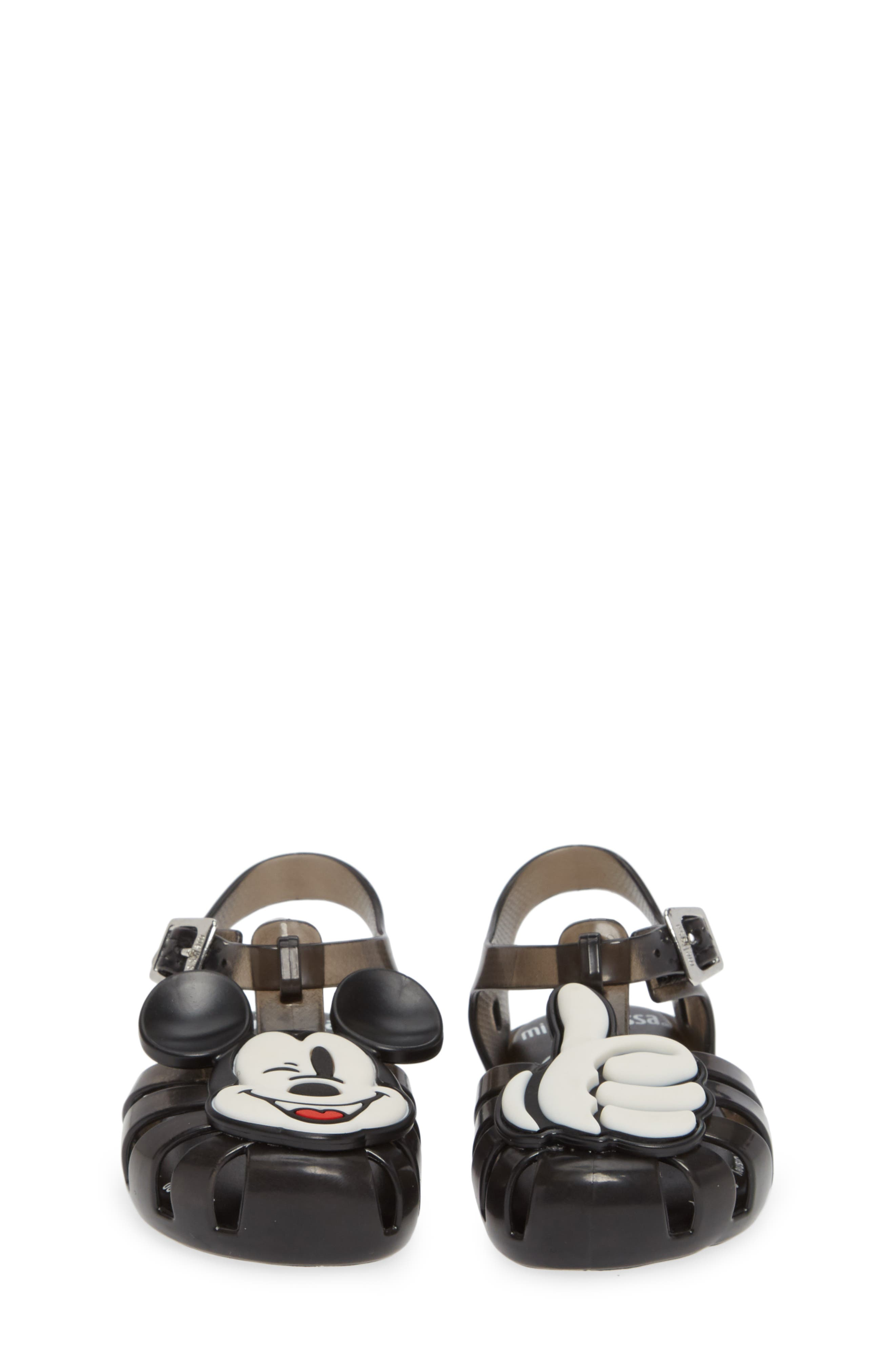 ,                             Aranha + Mickey Fisherman Sandal,                             Alternate thumbnail 5, color,                             BLACK