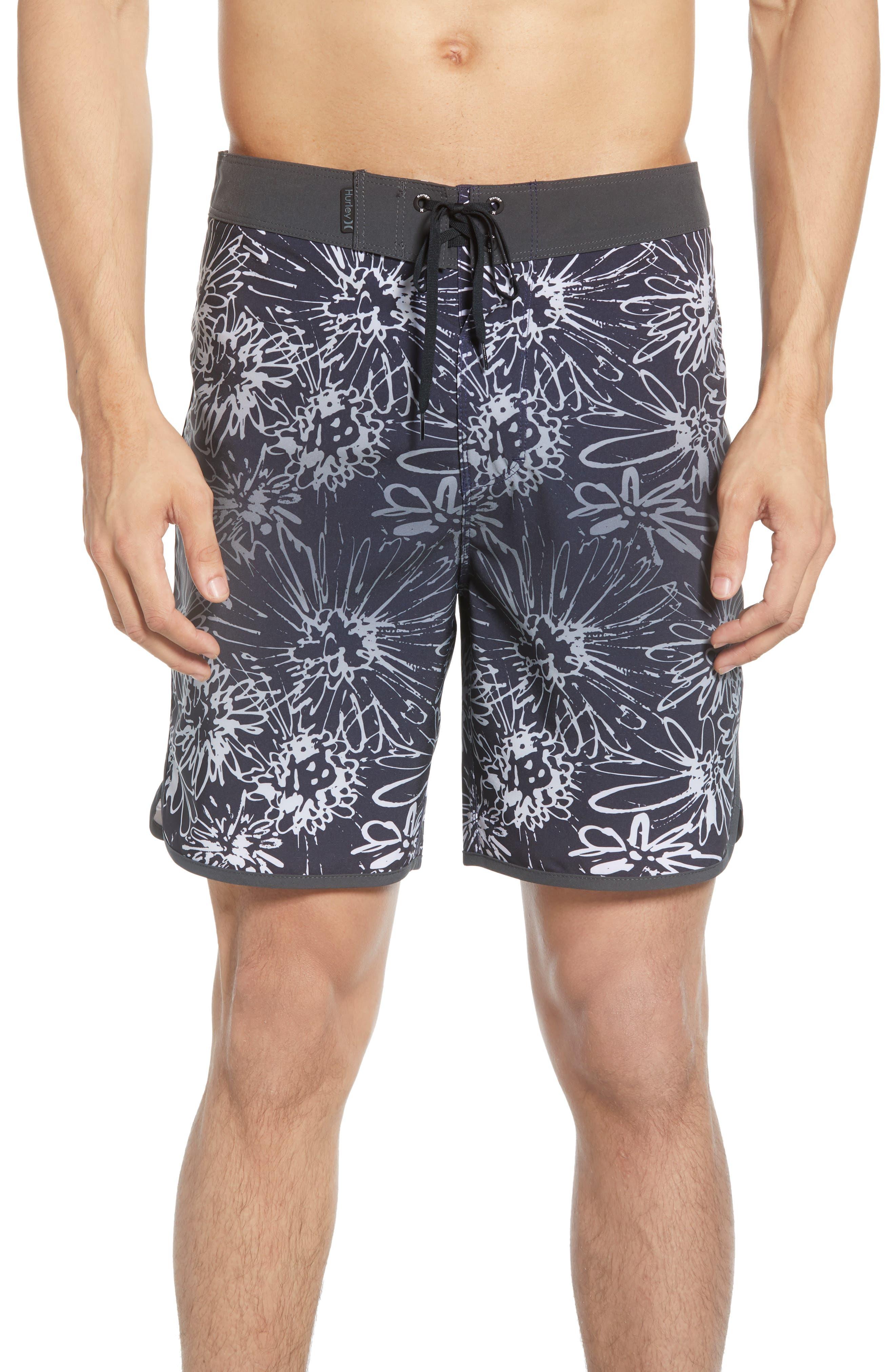 Hurley Phantom Sweet Life Board Shorts, Blue