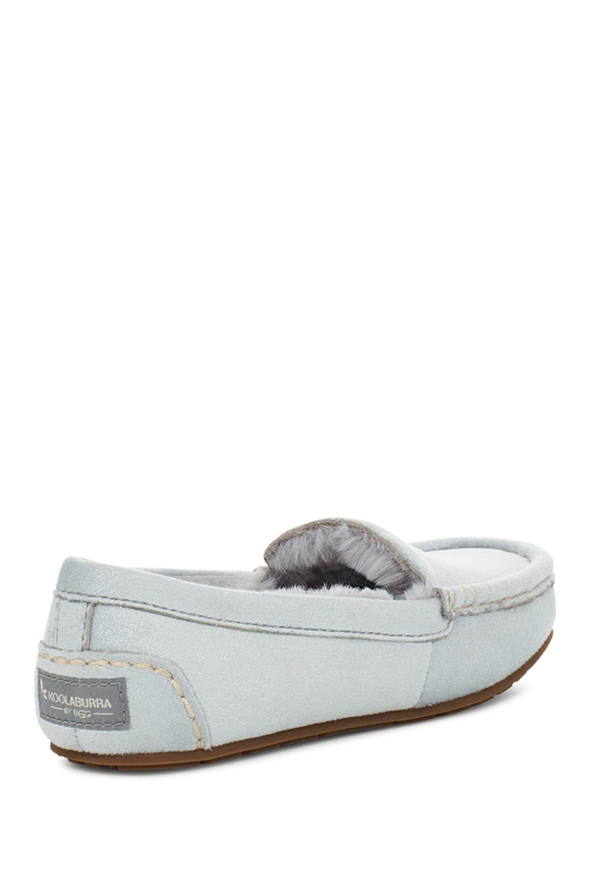 KOOLABURRA BY UGG Riley Shimmer Faux Fur Lined Moccasin