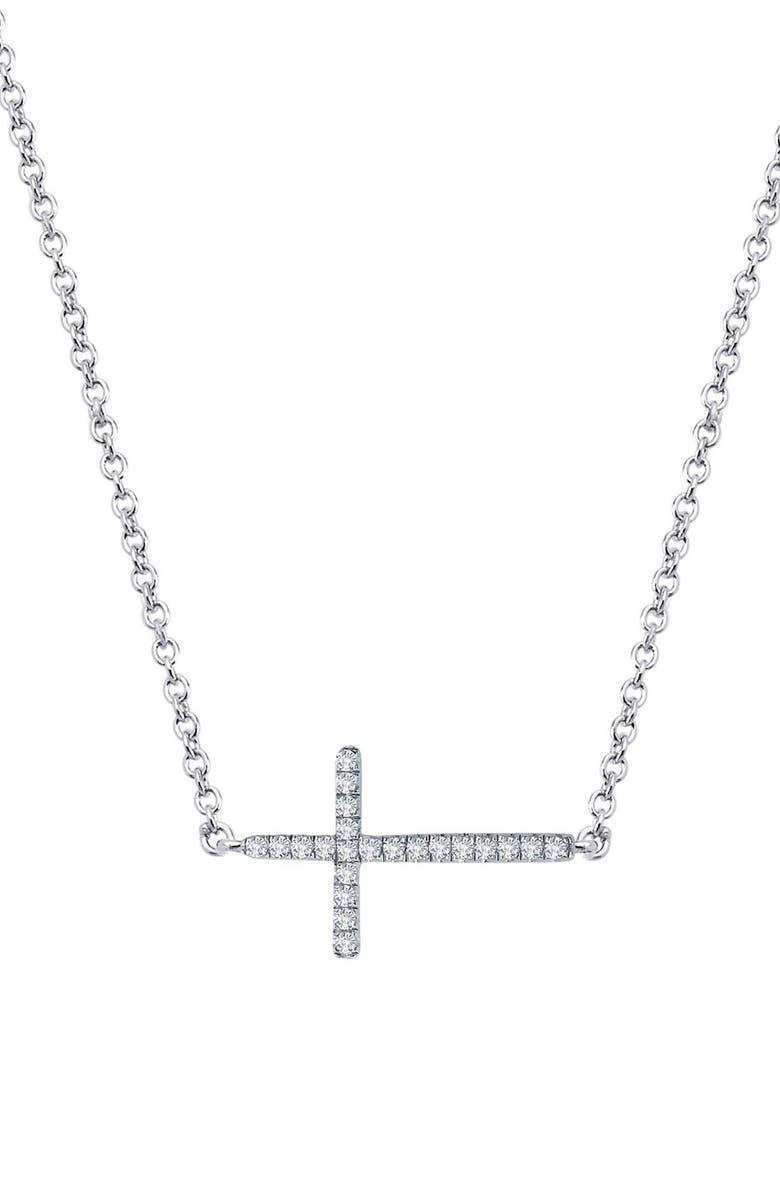 LAFONN 'Lassaire' Cross Pendant Necklace, Main, color, 040