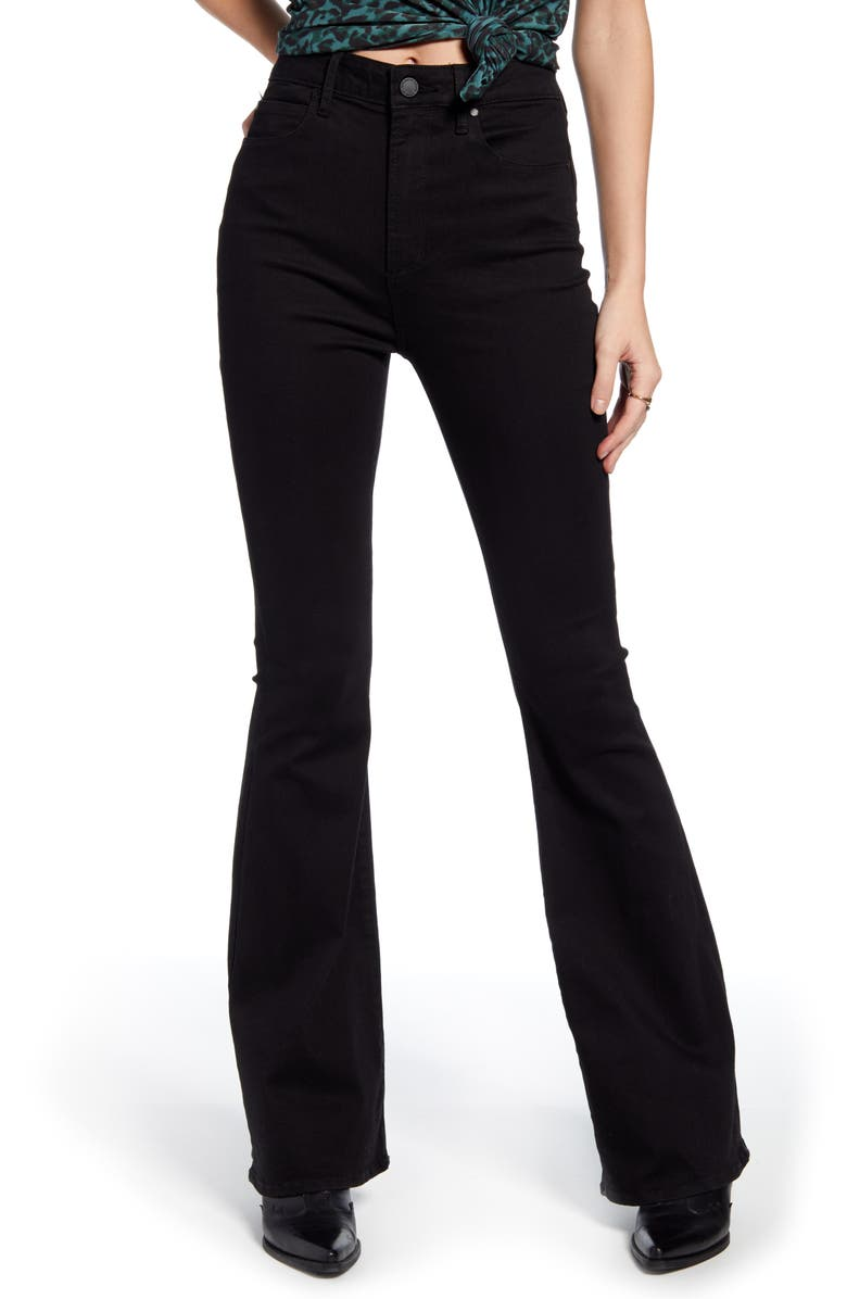 ARTICLES OF SOCIETY Bridgette High Waist Flare Jeans, Main, color, VALHALLA