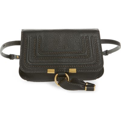 Chloe Marcie Convertible Belt Bag - Black