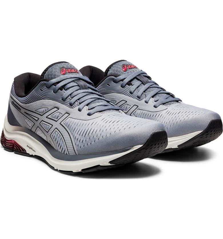 ASICS GEL-Pulse 12 Sneaker, Main, color, SHEET ROCK/BLACK