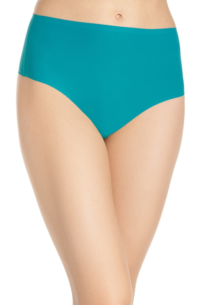 CHANTELLE LINGERIE Chantelle Intimates Soft Stretch Seamless Retro Thong, Main, color, 320