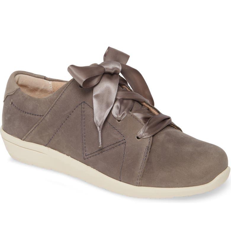 VIONIC Lindsey Sneaker, Main, color, SLATE GREY WATERPROOF NUBUCK