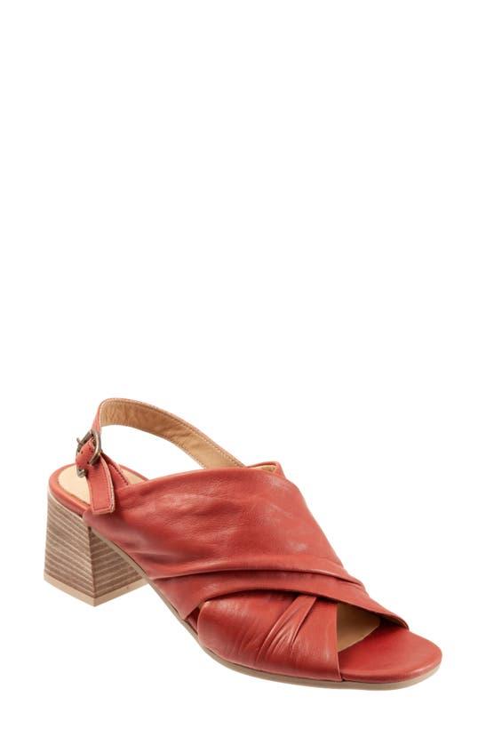 Bueno Women's Eden Dress Sandals Women's Shoes In Terracotta Leather