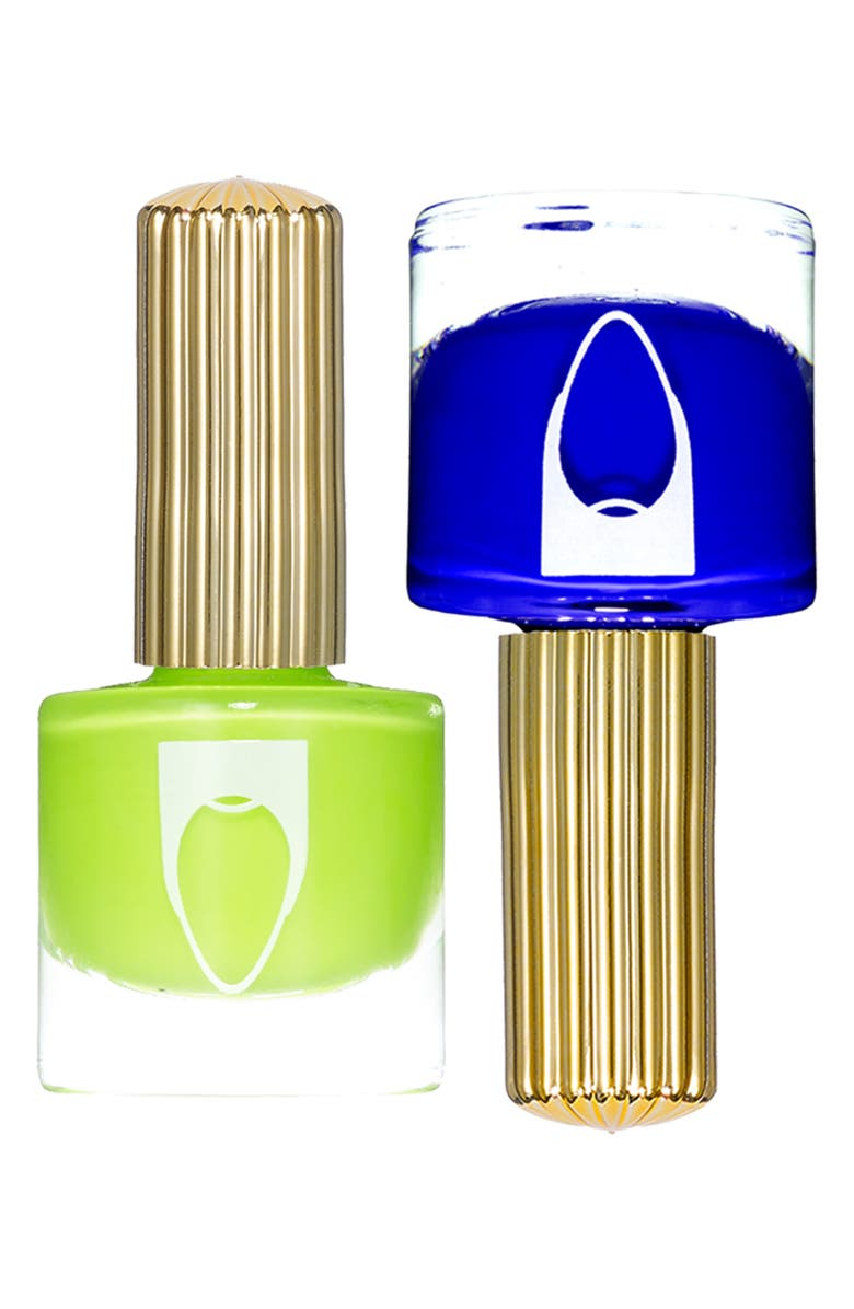 FLOSS GLOSS Pro Nail Lacquer Set, Main, color, COIN LIMON / EL CAPTION