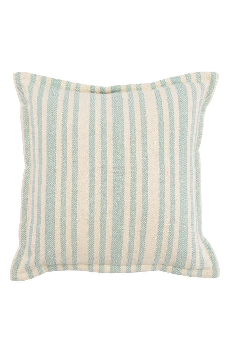 VILLA HOME COLLECTION Auden Pillow, Main, color, IVORY/ SURF