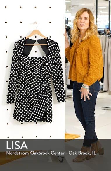 Amy Long Sleeve Minidress, sales video thumbnail