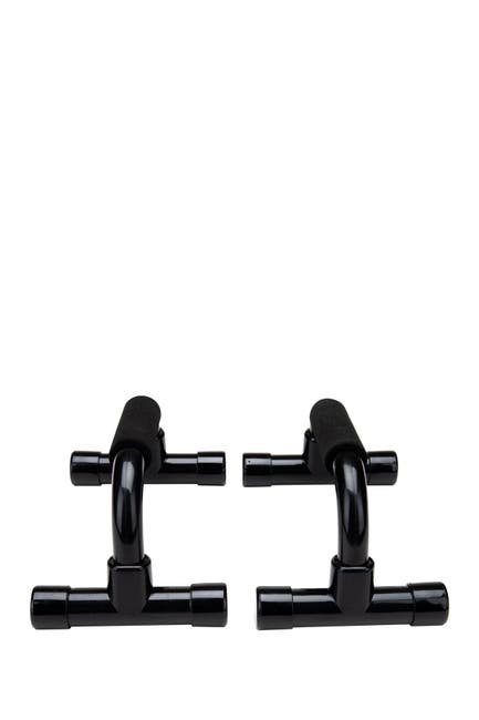 Image of MIND READER Push Up Handles with Cushioned Foam Grip - Set of 2