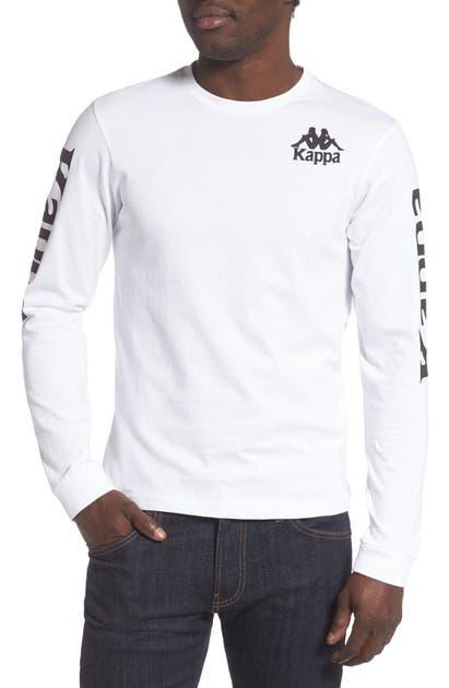 Kappa T-shirts ACTIVE LONG SLEEVE GRAPHIC T-SHIRT