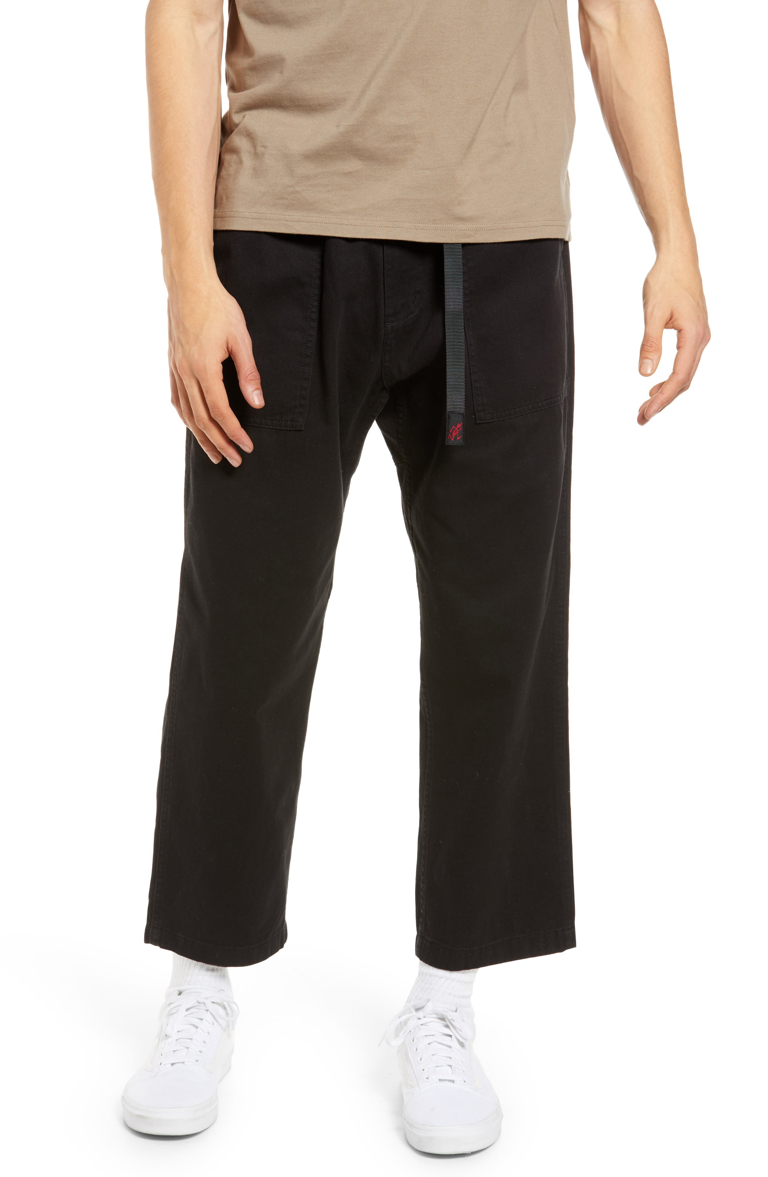 Tapered Twill Pants