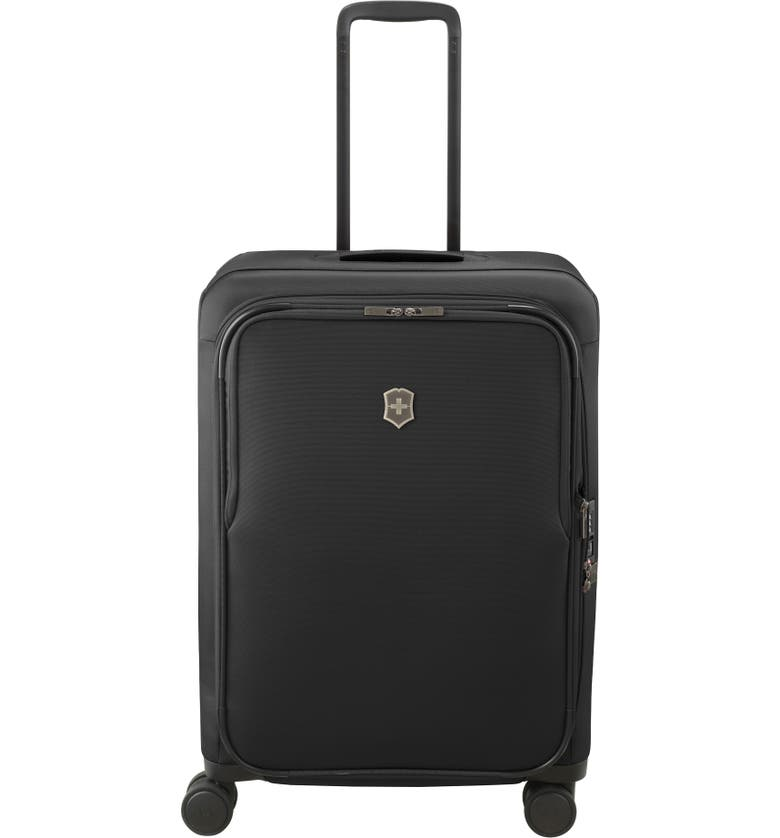 VICTORINOX SWISS ARMY<SUP>®</SUP> Connex Medium 26-Inch Spinner Packing Case, Main, color, BLACK