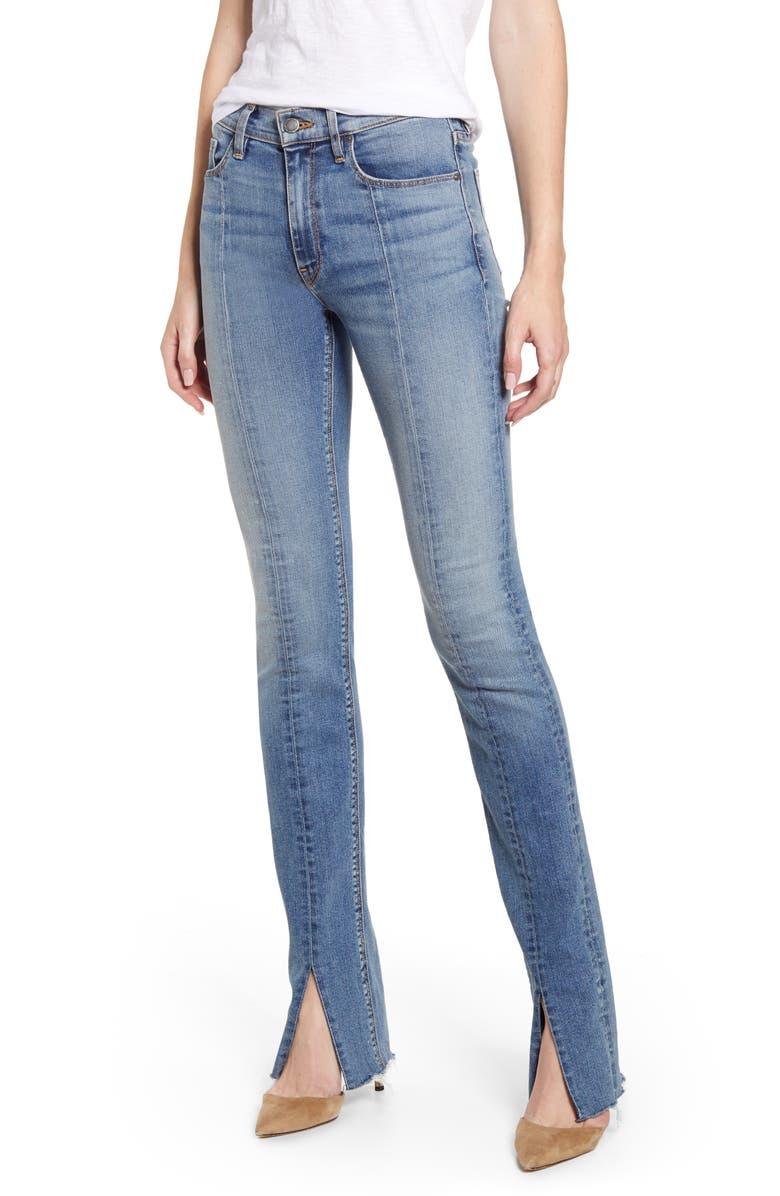 HUDSON JEANS Barbara High Waist Super Skinny Kick Jeans, Main, color, CLEAN PROVOKING