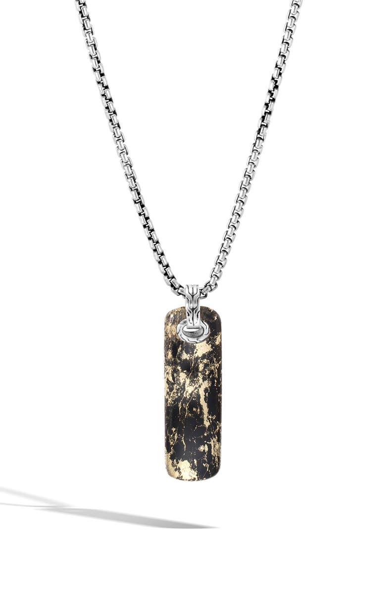 John Hardy Mens Classic Chain Pendant Necklace