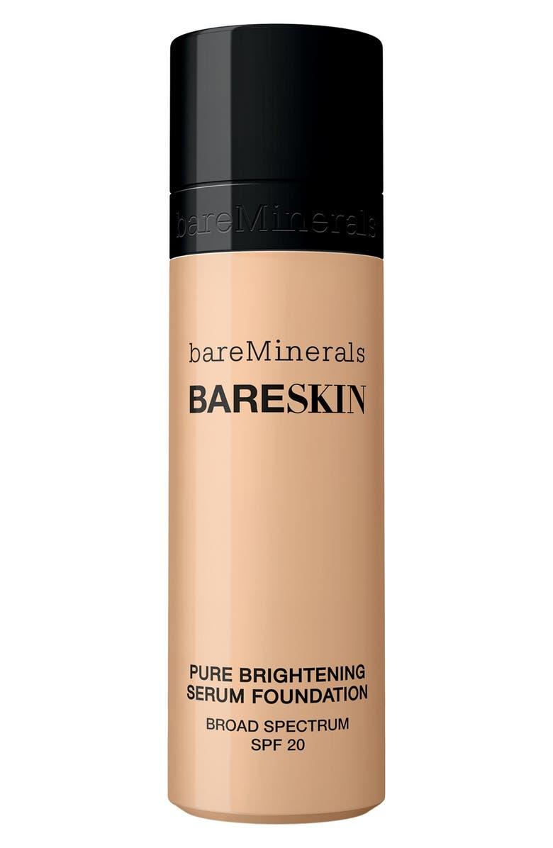 BAREMINERALS<SUP>®</SUP> bareSkin<sup>®</sup> Pure Brightening Serum Foundation Broad Spectrum SPF 20, Main, color, 250