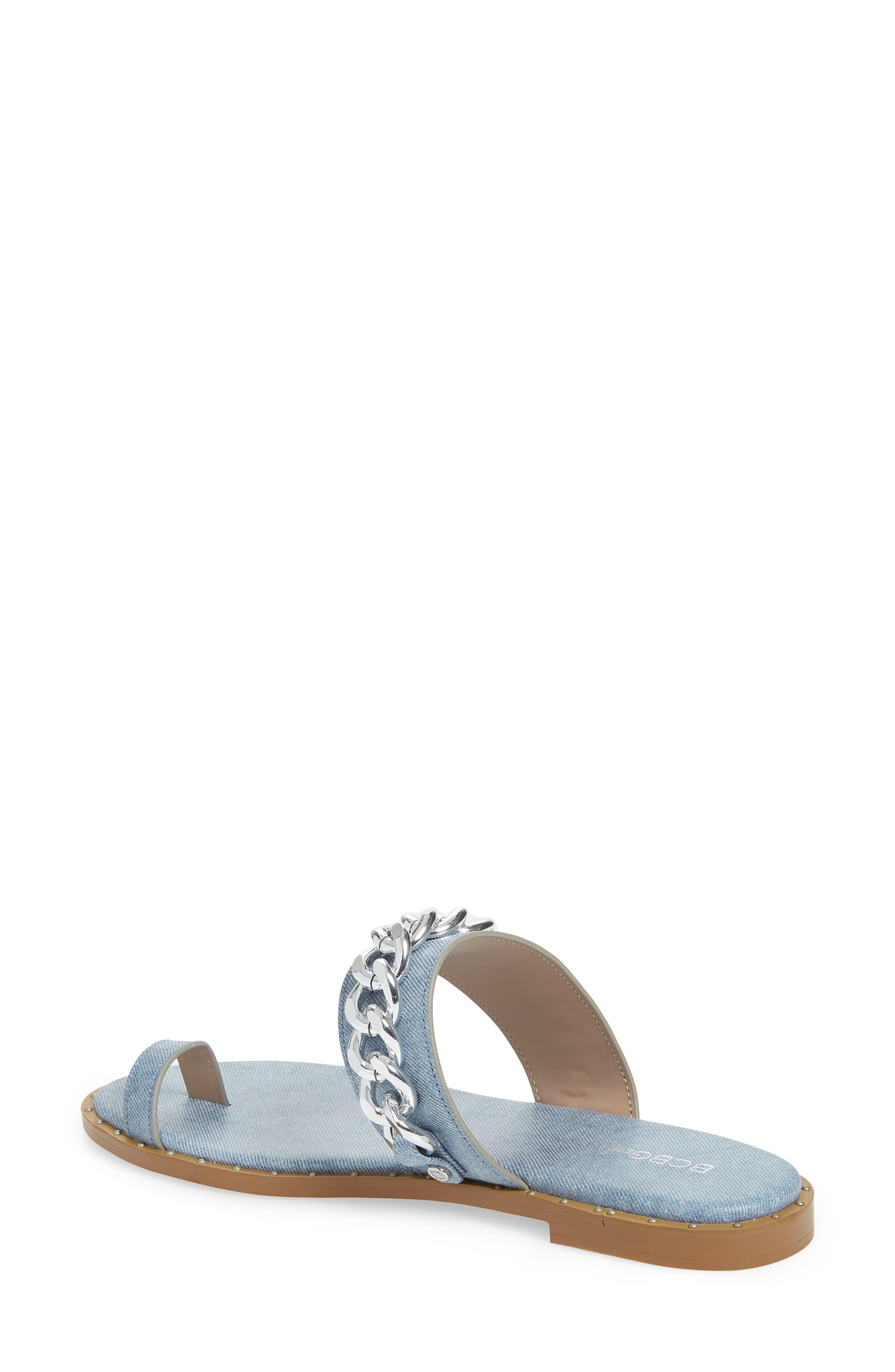 ,                             Zola Chain Slide Sandal,                             Alternate thumbnail 14, color,                             400