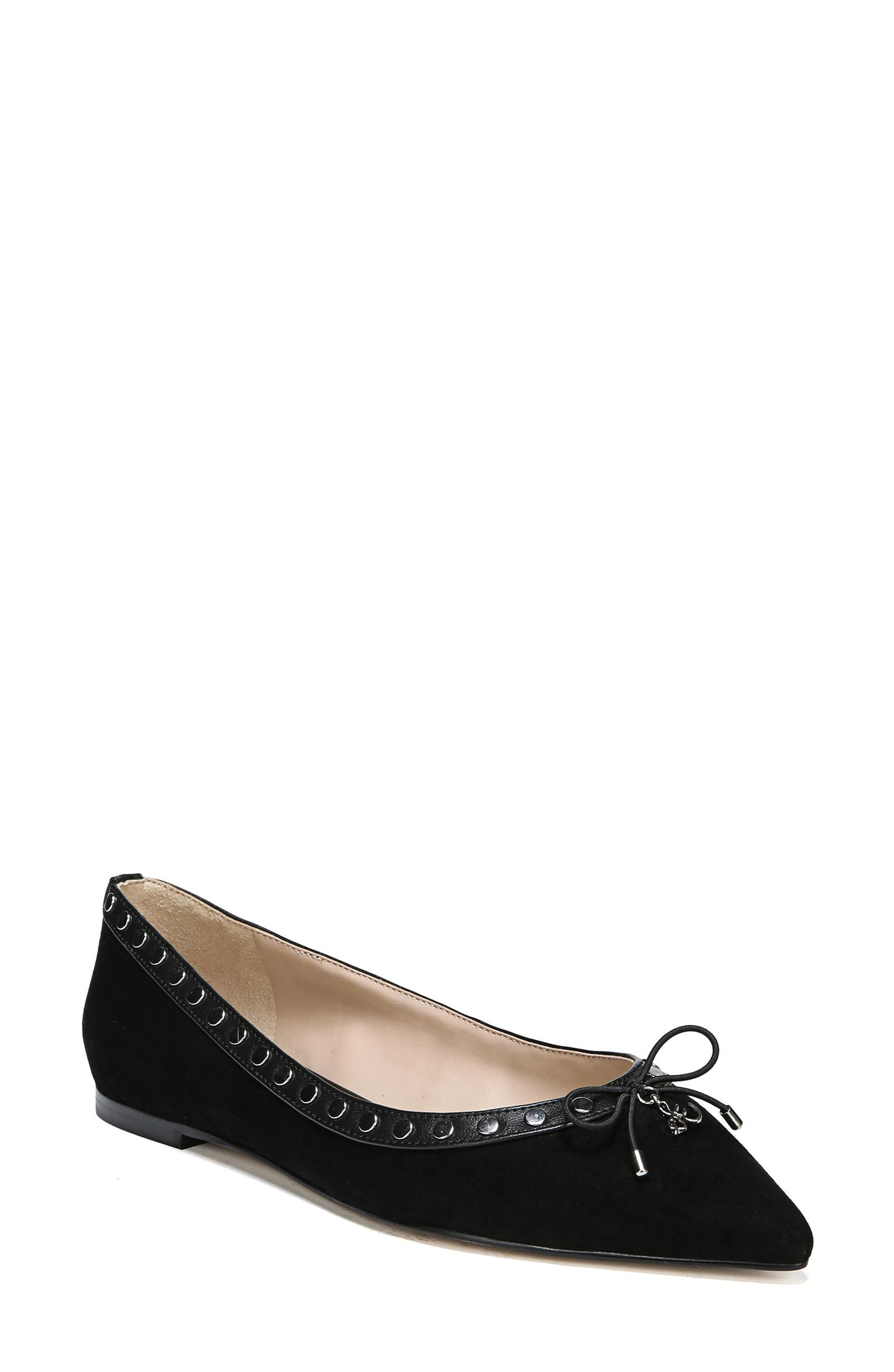 Ralf Genuine Calf Hair Flat, Main, color, 002