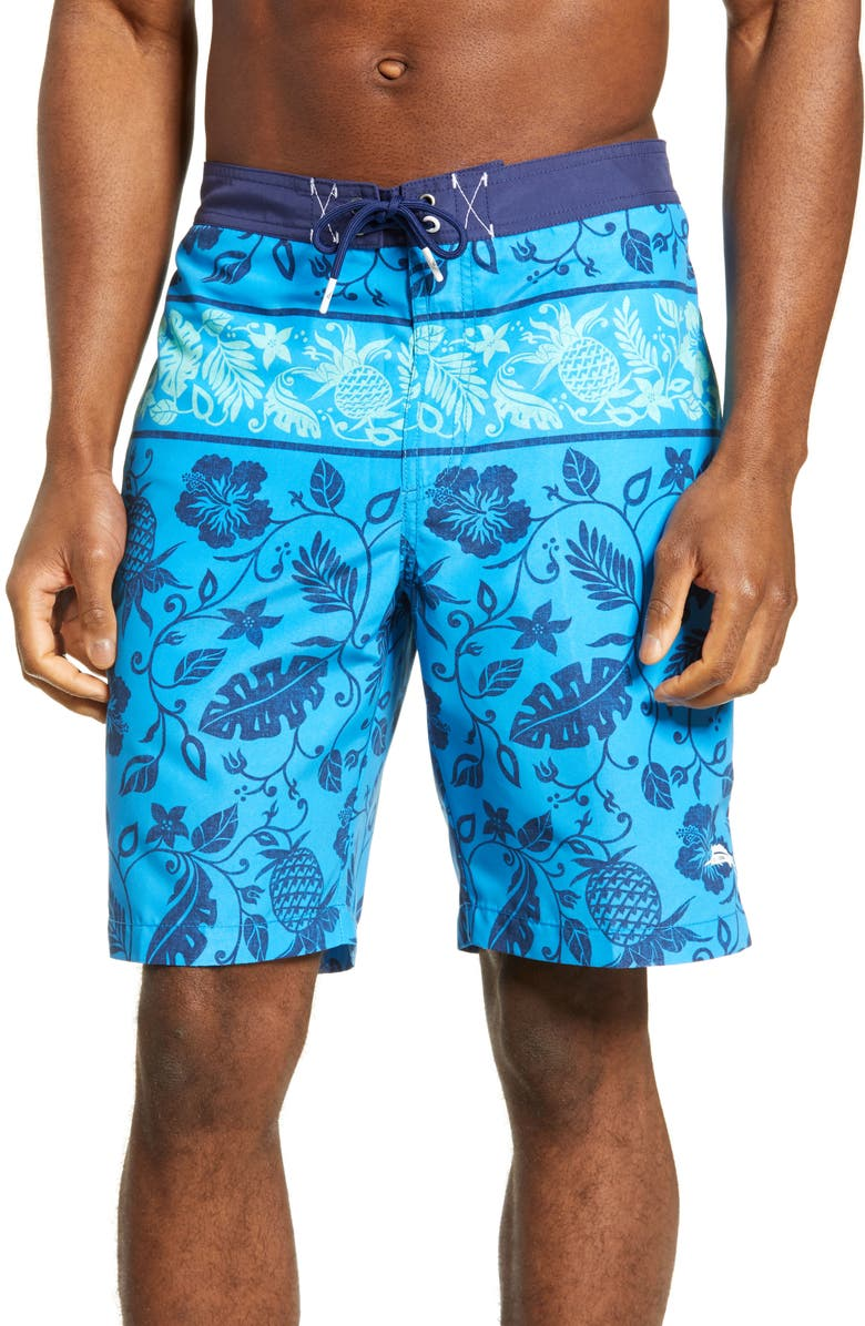 TOMMY BAHAMA Baja Pina Palazo Board Shorts, Main, color, ISLE OF CAPRI
