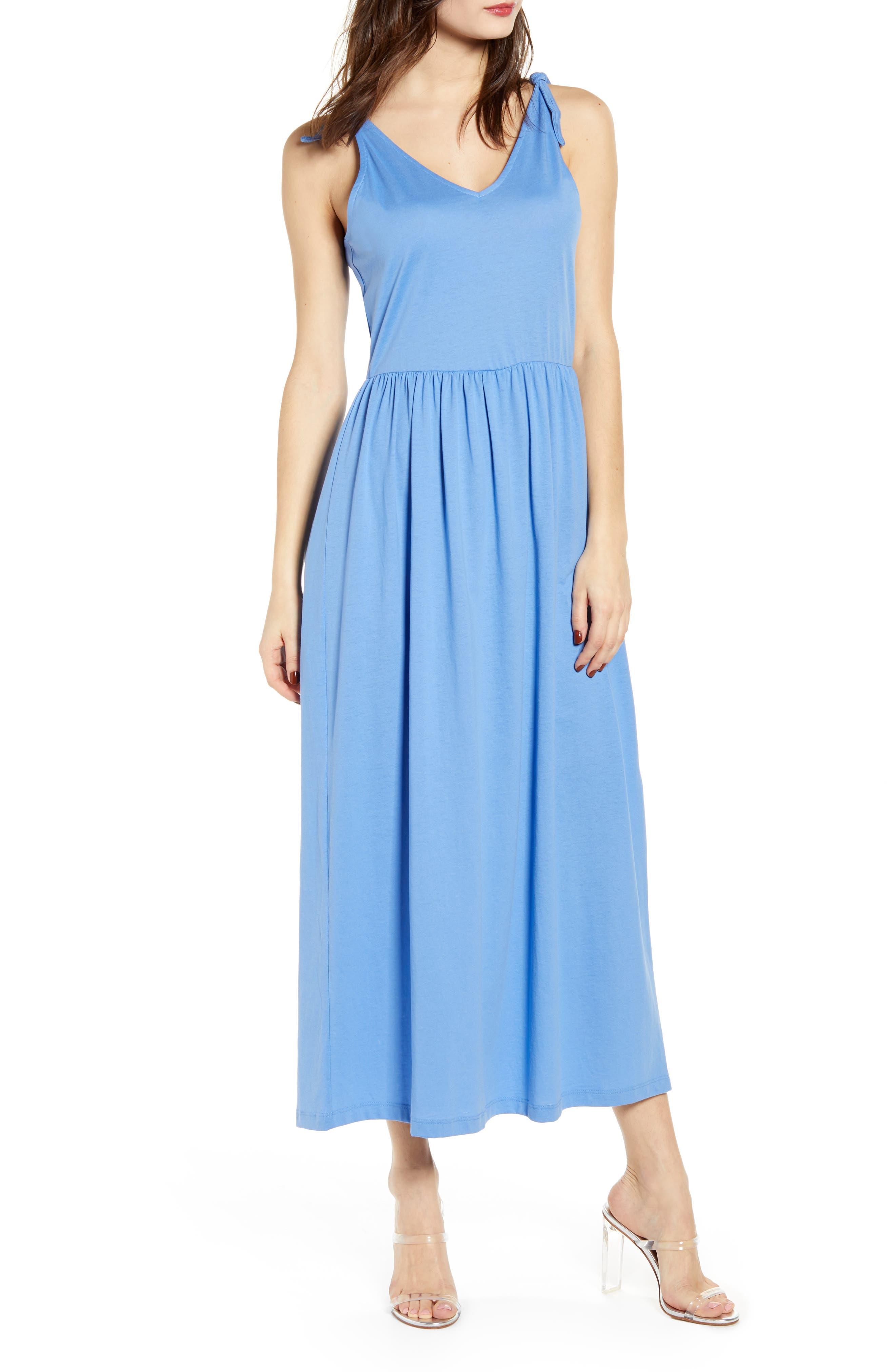 Vero Moda Rebecca Maxi Dress, Blue