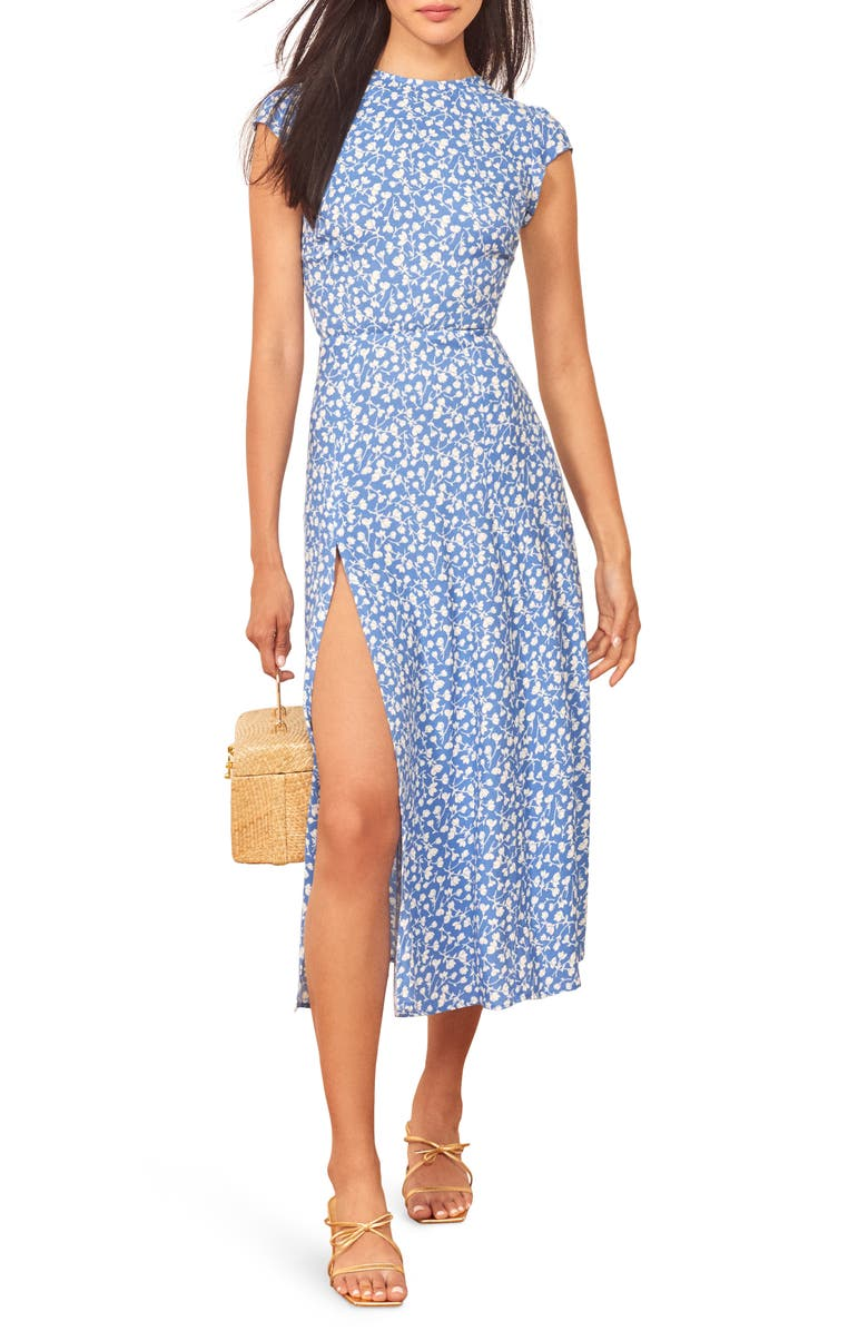 REFORMATION Gavin Dress, Main, color, MARIE
