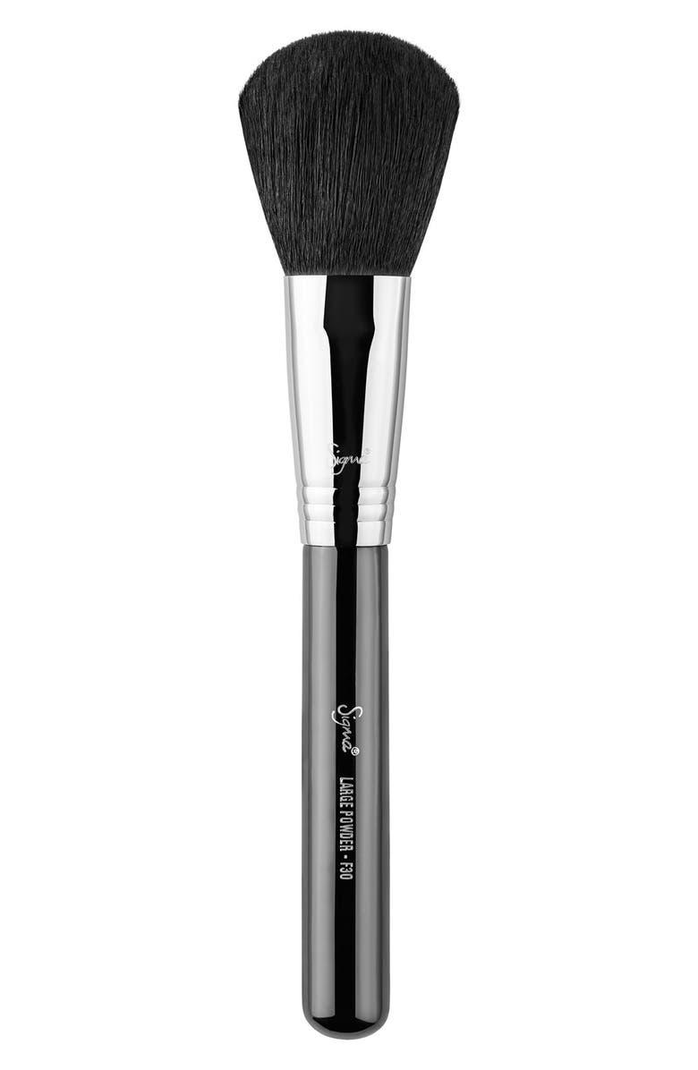 SIGMA BEAUTY F30 Large Powder Brush, Main, color, 000